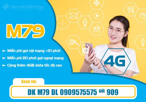 Đăng ký gói cước M79 MobiFone - Nhân Combo ưu đãi hấp dẫn