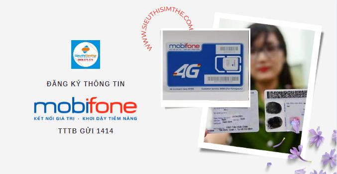Hướng dẫn đăng ký thông tin MobiFone trả trước qua mạng