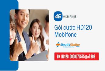 HD120 Mobifone ưu đãi đặc biệt - Hướng dẫn đăng ký gói cước