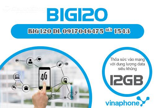 Gói cước 4G BIG120 Vinaphone cập nhật mới nhất 2021