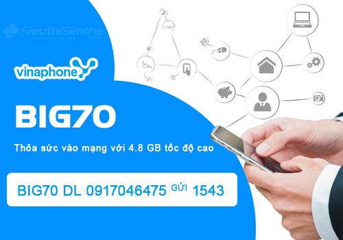 Gói cước 4G Big70 Vinaphone cập nhật mới nhất năm 2021