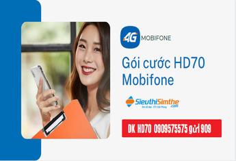 Gói cước HD70 Mobifone - Hướng dẫn chi tiết cách đăng ký