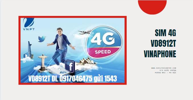 Mua sim VD8912T VinaPhone, miễn phí gọi và Data 1 năm giá rẻ