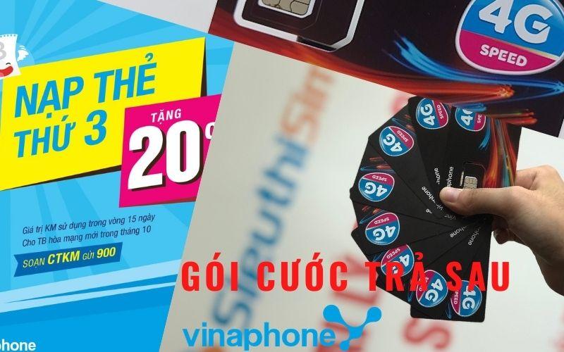 Các Gói Cước 4G, Gọi, Nhắn Tin Trả Sau VinaPhone 2021