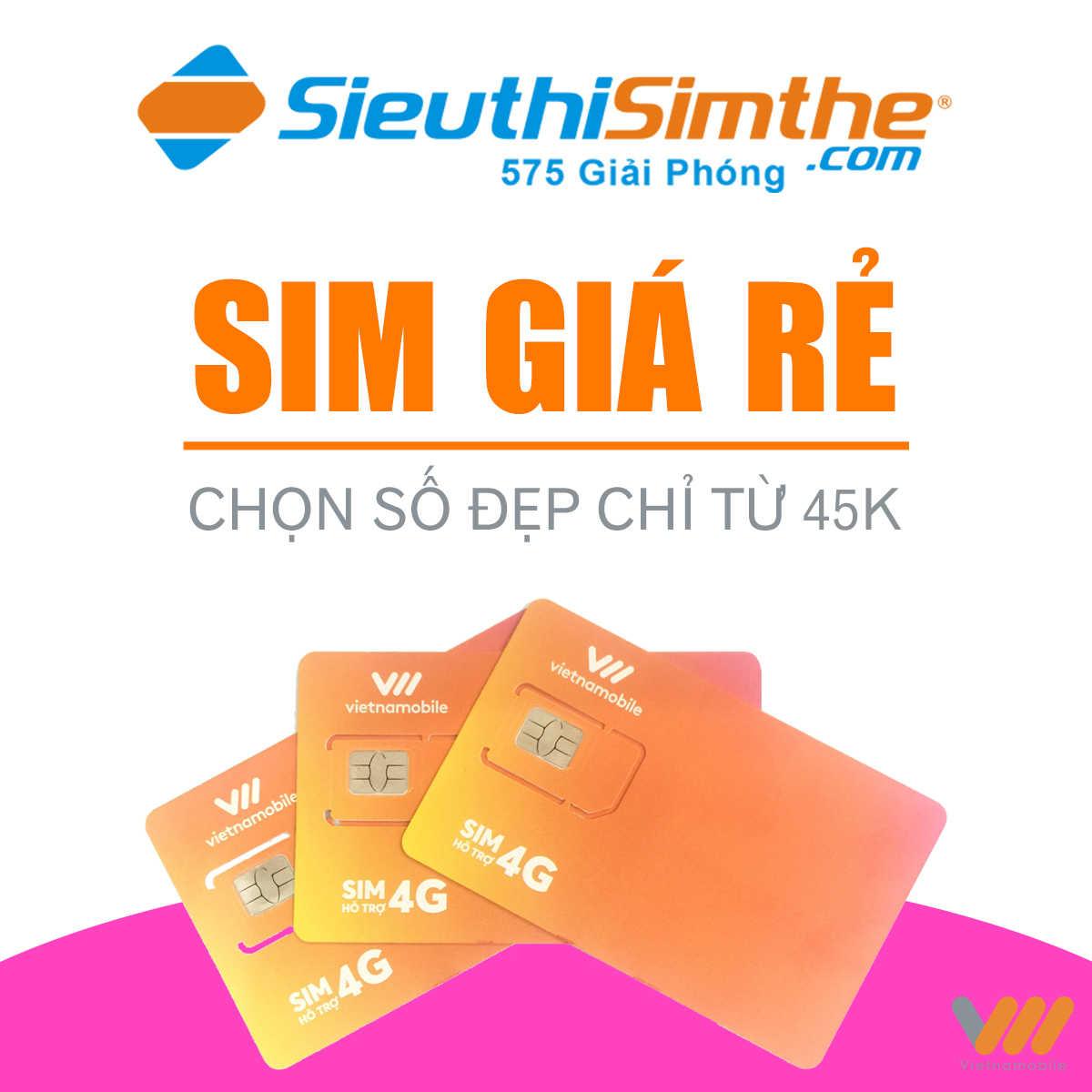 Sim 4G Vietnamobile Siêu Thánh Up 1800GB Miễn Phí Cả Năm
