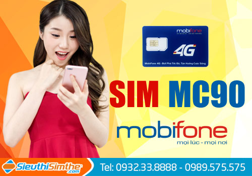 Sim MC90 ngôi sao mới của nhà mạng MobiFone